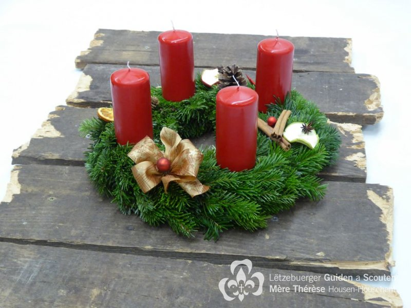 Adventskränz 2017